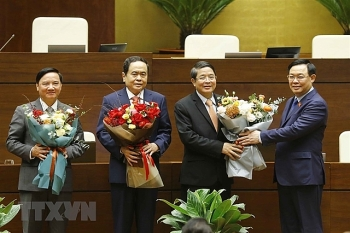 vietnam news today april 2 three new vice chairmen of national asembly elected