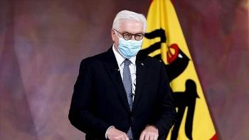 world breaking news today april 2 german president receives astrazeneca vaccine