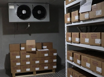 A peek into cold storage preserving thousands of Covid-19 vaccines in Vietnam