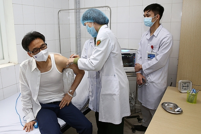My body produces antibodies well post Vietnamese homegrown vaccination, Deputy PM said