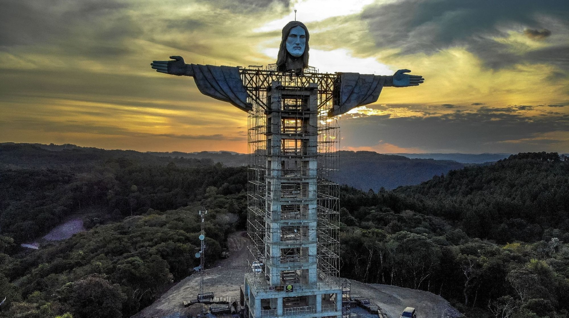 World breaking news today (April 11):  Brazil building new giant Christ statue, taller than Rio's