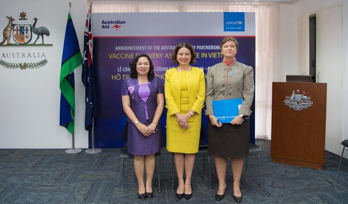Australia to support Vietnam US $10,4 mil to facilitate Covid-19 vaccination