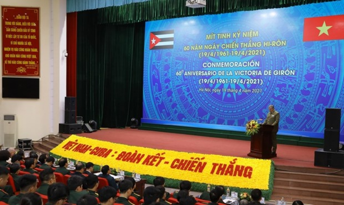 Vietnam News Today (April 20):  Hanoi ceremony marks 60th anniversary of Cuba's Giron victory