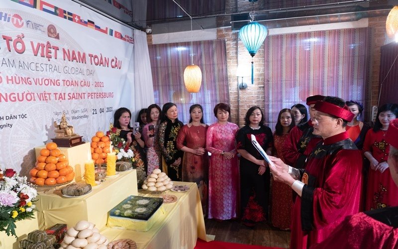 Overseas Vietnamese around the world commemorate Hung Kings' death anniversary