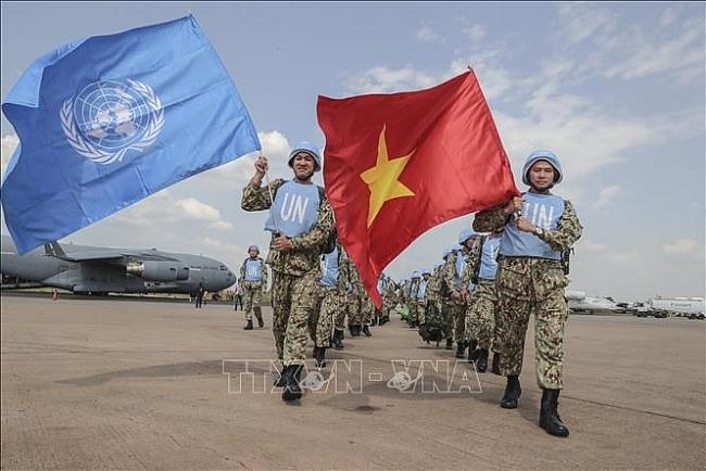 Vietnamese peacekeepers' activities in South Sudan earn high appreciation
