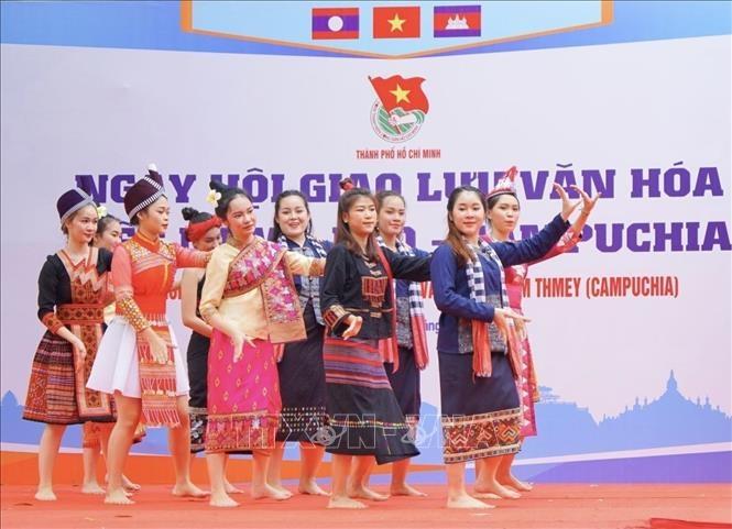 Vietnam - Laos - Cambodia Cultural Exchange Festival joyfully celebrated in HCMC