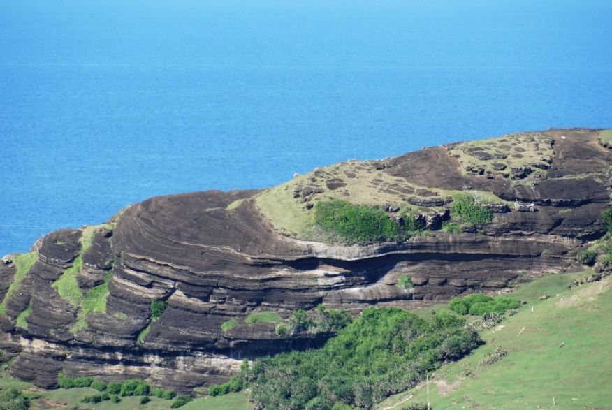 volcanic rocks found on top of phu quy island