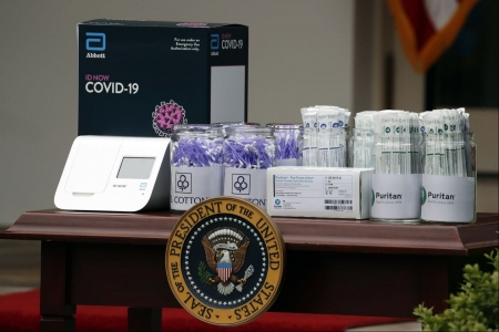 World news today: Rapid coronavirus test used at White House misses many COVID-19 cases