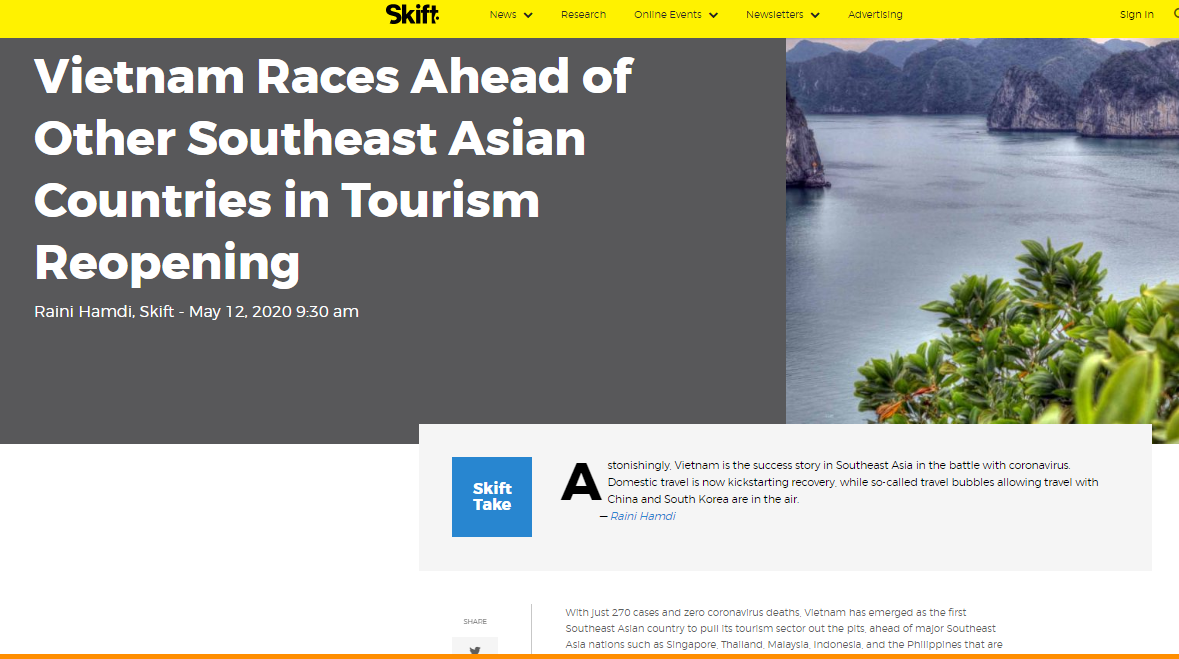 us magazine vietnam races ahead of other asean countries in tourism reopening