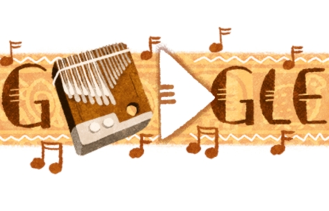 todays google doodle chill with music of the zimbabwean mbira