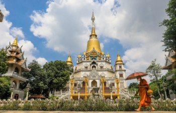 national geographic buu long pagoda in vietnam a world top excellent buddhist architectures