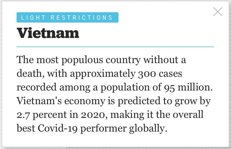 politico names vietnam the worlds no1 country in covid 19 fight