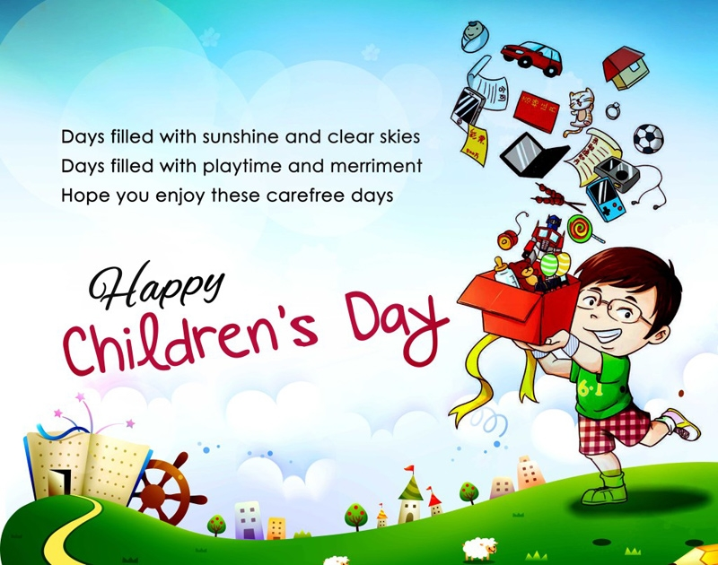 2020 international childrens day best wishes messages slogans for kids