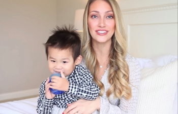 us news today youtuber myka stauffer faces backlash for rehoming 4 year old adopted chinese son with autism