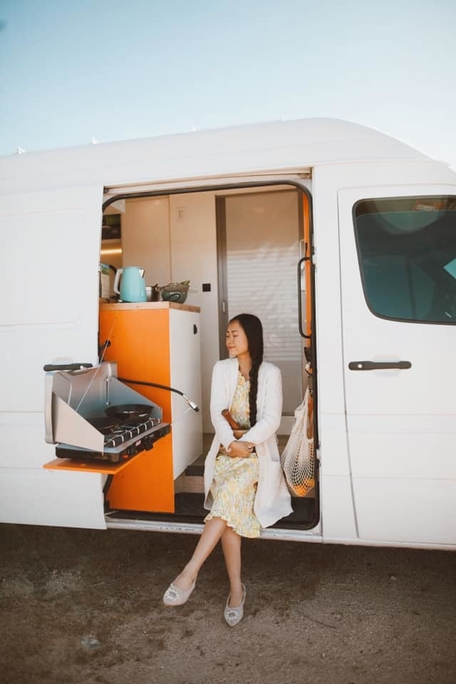 vietnamese american couple travel the world on caravan house