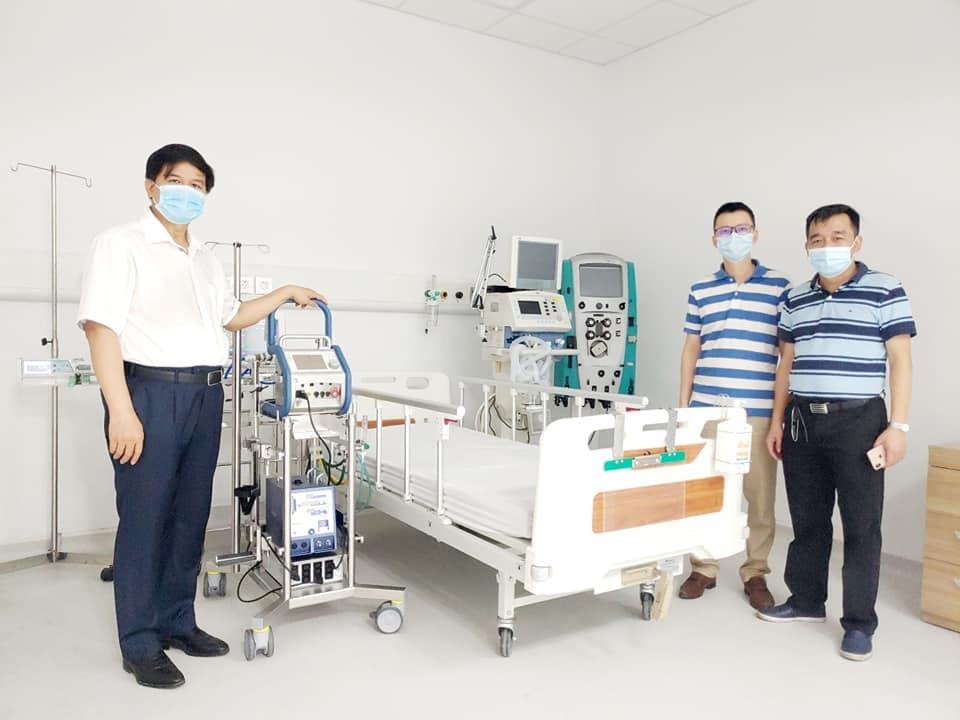 Covid-19 field hospital set up in Ha Nam at 'lightning speed'