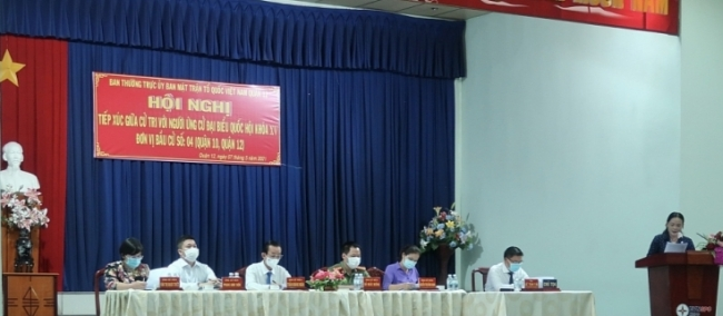 Voters highly agree with action plan of 15th NA candidates  in HCMC