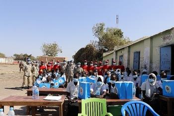 Vietnamese peacekeepers in South Sudan wins hearts of local people