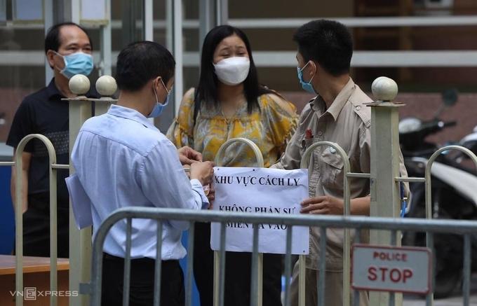 Hanoi tightens anti-pandemic measures