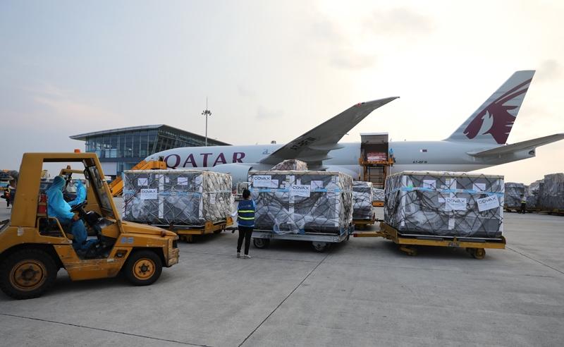1.7 mln Covid 19 vaccines under Covax scheme arrives in Vietnam