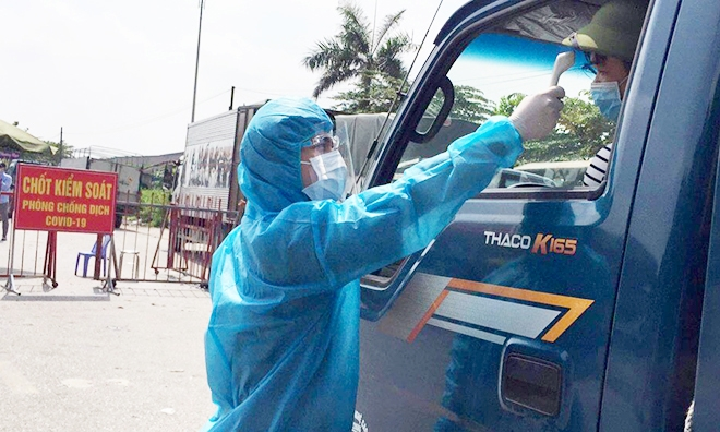 Bac Ninh adopts market entrance tickets amid social distancing time