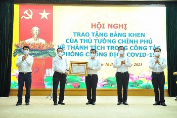 Three-layer quarantine model in Dong Anh district wins praises and awards