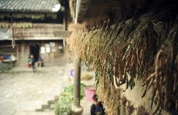 Pao's house, a cultural and architectural attraction in Ha Giang province