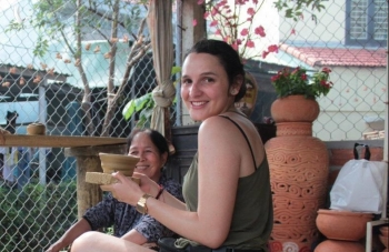 Colombian visitor: 'I love Vietnamese people's friendliness'
