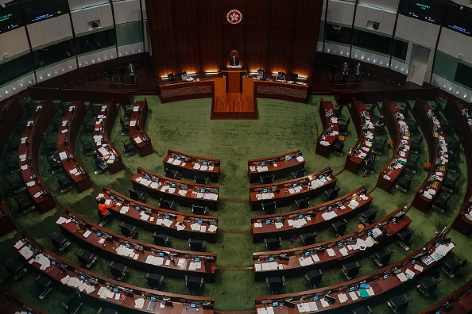 hong kong legislators pass chinese anthem law