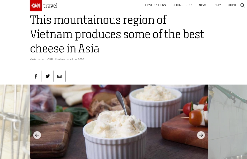 CNN: Dalat produces some of the best cheese in Asia