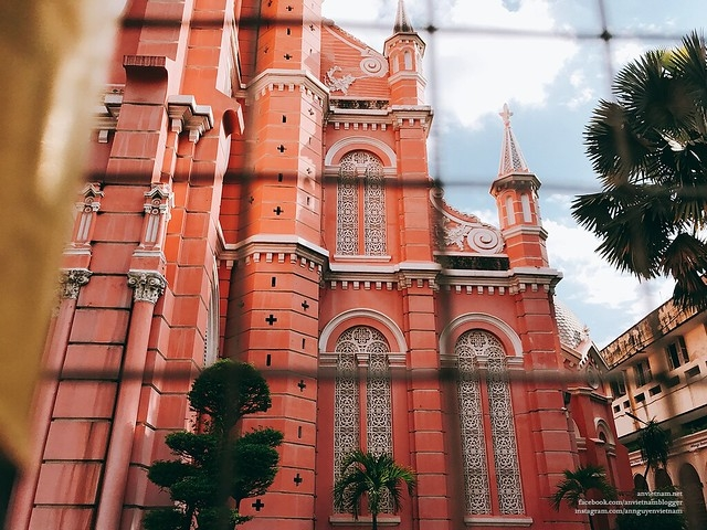 cn traveler names tan dinh cathedral a world top 10 most stunning pink destinations