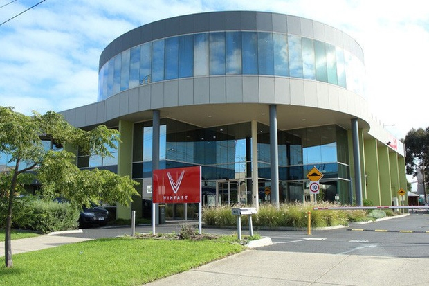 vinfast research and development center opened in australia