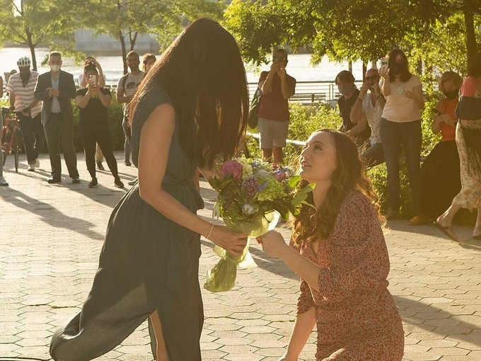 Anh-Linh Trinh is proposed by her girlfriend Alyssa Kayhill on June 8