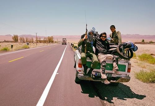 vietnamese backpacker who travels the world on motorbikes returns vietnam