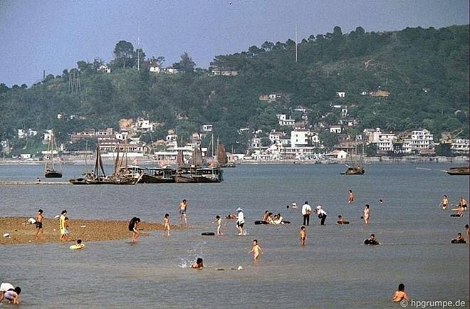 a pristine ha long bay some dozen decades ago under german visitors lens