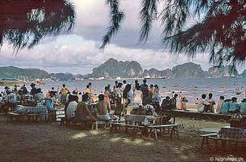 a pristine ha long bay some dozen decades ago under german visitors lens