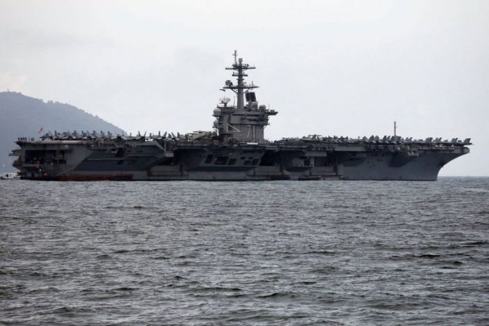 The U.S. Navy is preparing for expansive two-carrier attacks in the Pacific