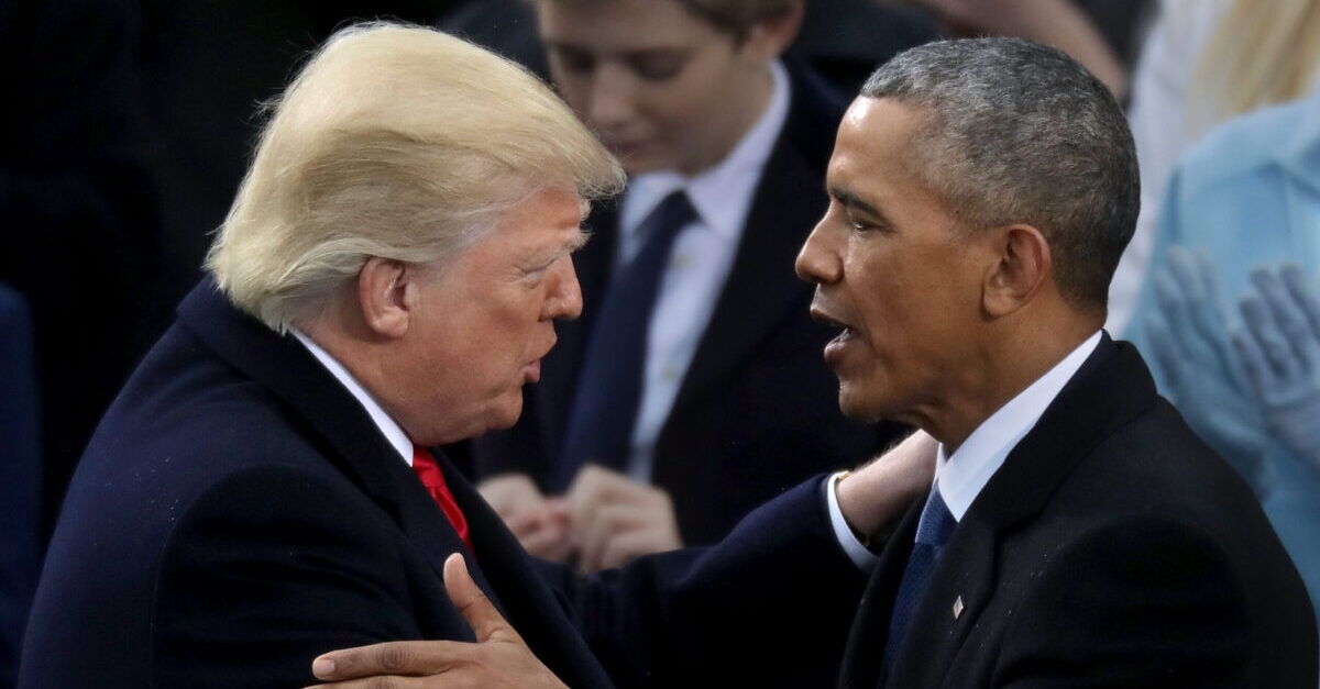 Trump suggested without evidence that Obama, committed treason in connection with the investigation into the 2016 Trump campaign's contacts with Russia