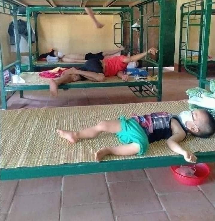 Special International Children's Day in quarantine centers