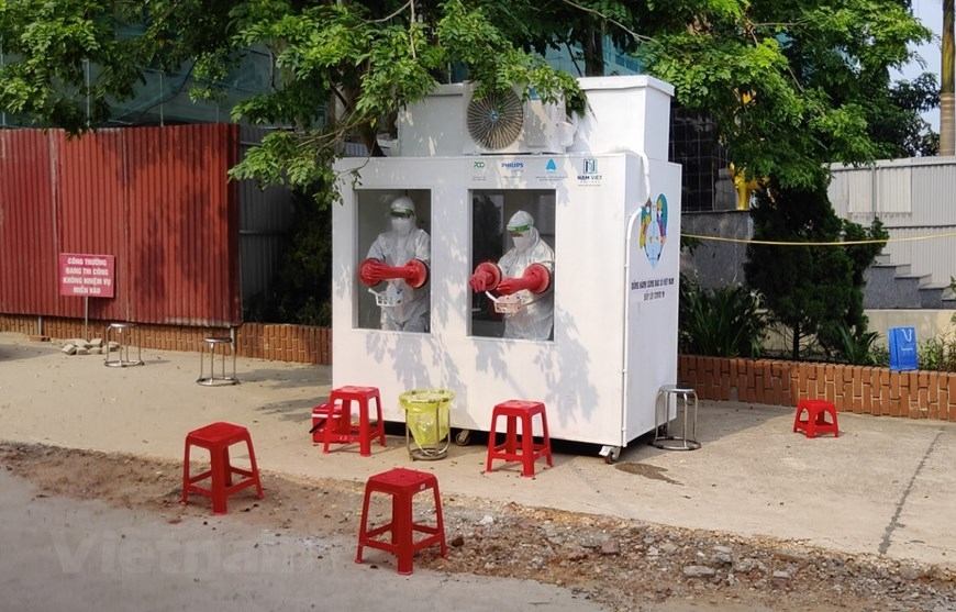 New tech to fight the pandemic in the Vietnamese heat-video