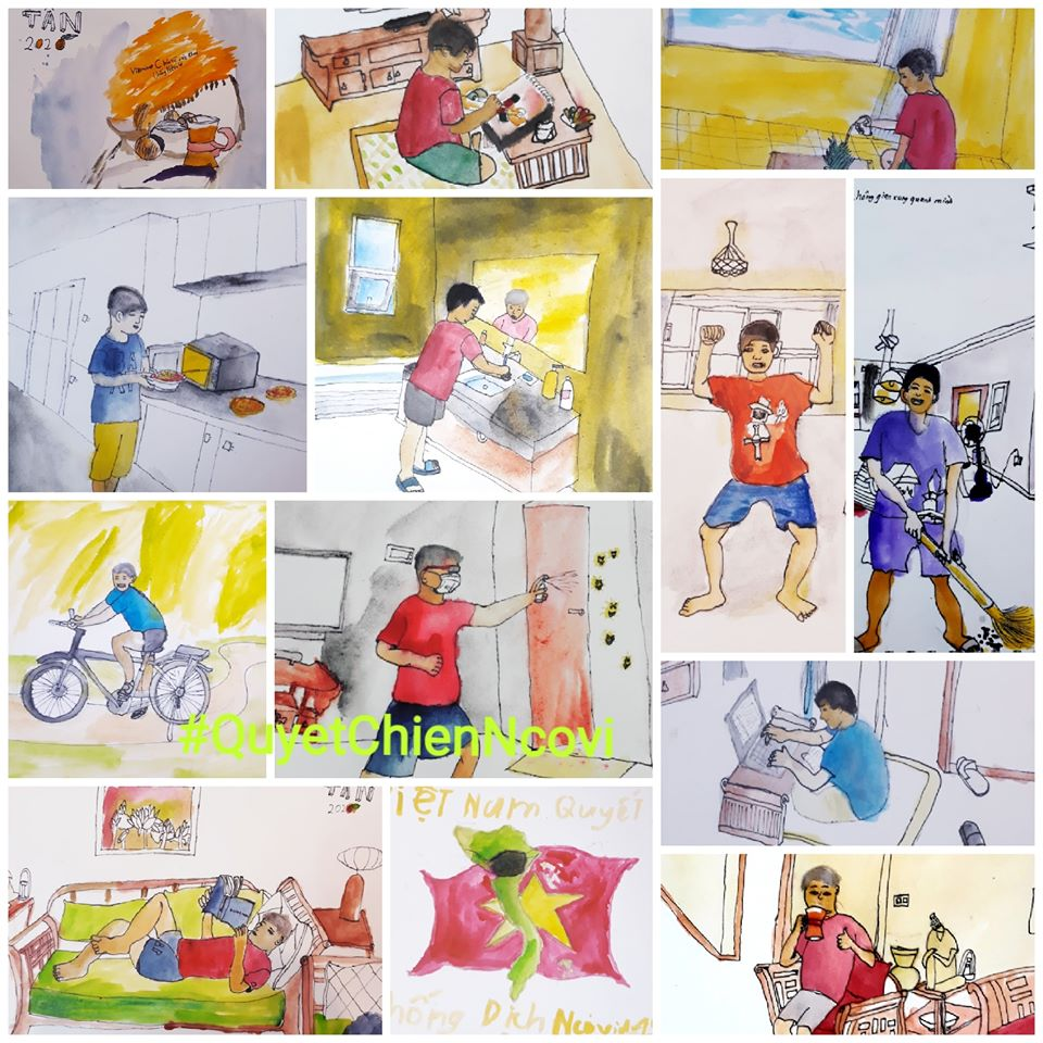 Artist capture spirit of a nation in era of Covid