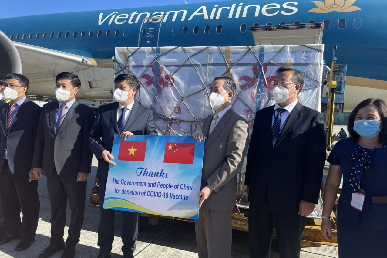 China's Sinopharm Covid vaccine arrives in Vietnam
