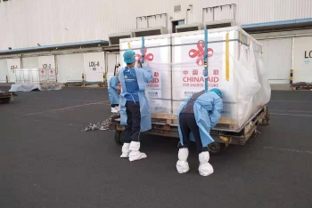 China's Covid vaccine arrives in Vietnam for Chinese expats and Vietnamese going to China