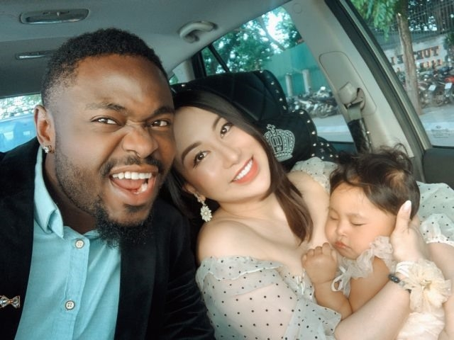 Cee-Jay, Thu Phuong and Upi