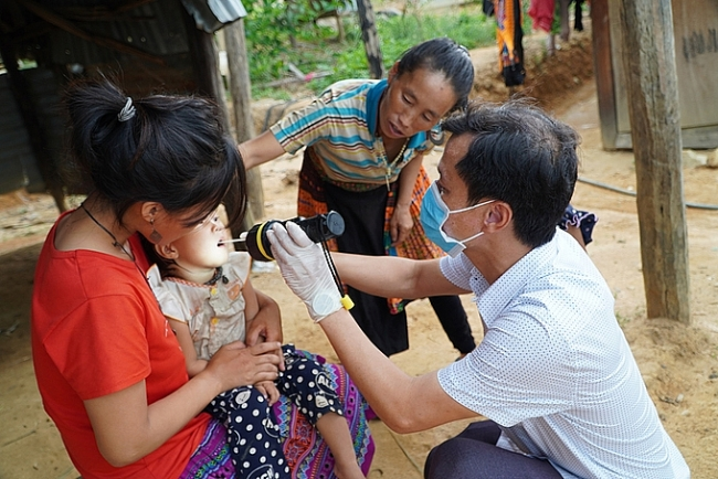 Diphtheria cases in Vietnam