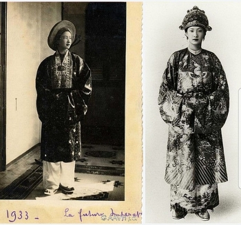 precious photos of vietnams iconic ao dai in the old time