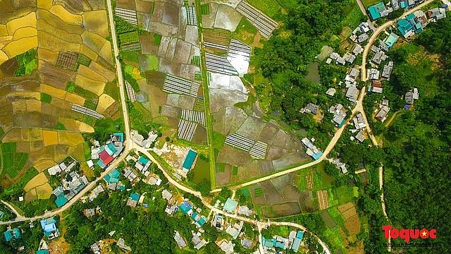 Vietnam Top Destination: Moc Chau rice paddy fields glitters in watery season