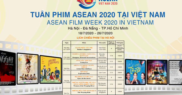 2020 asean film week to be held in vietnams three major cities