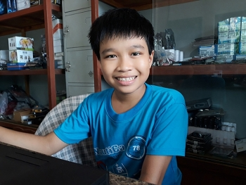 talented 12 year old tech savvy in vietnam