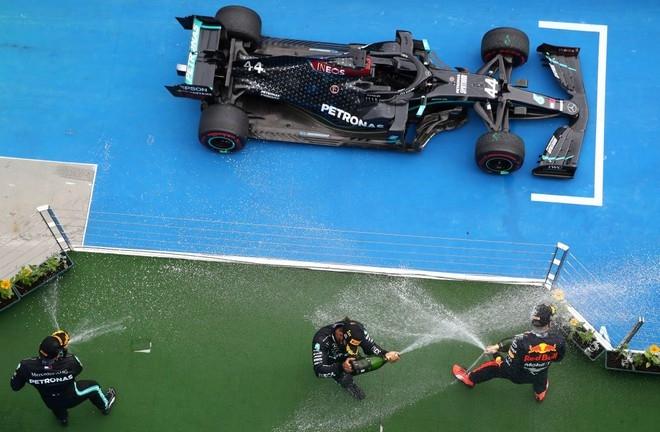 Hamilton and Mercedes still dominate the F1 race